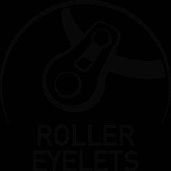 Roller Eyelets