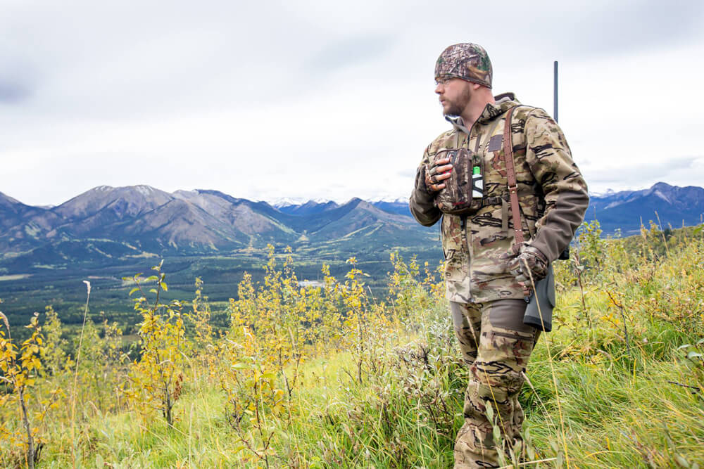 Andrew Snucins elk hunting in Northern British-Colombia